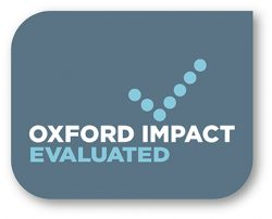 Oxford Impact Evaluated Badge